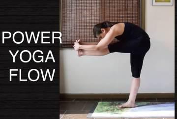 Strong Power Vinyasa Flow Yoga 30 Minutes