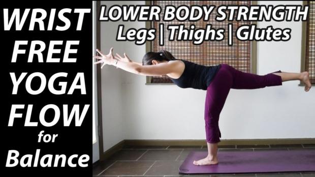 Wrist Free Yoga Flow for Balance Thumbnail