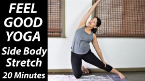feel good side stretch 20 minutes thumbnail