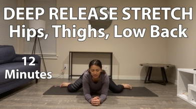 12 Minute Deep Release Seated Yoga Stretch Thumbnail
