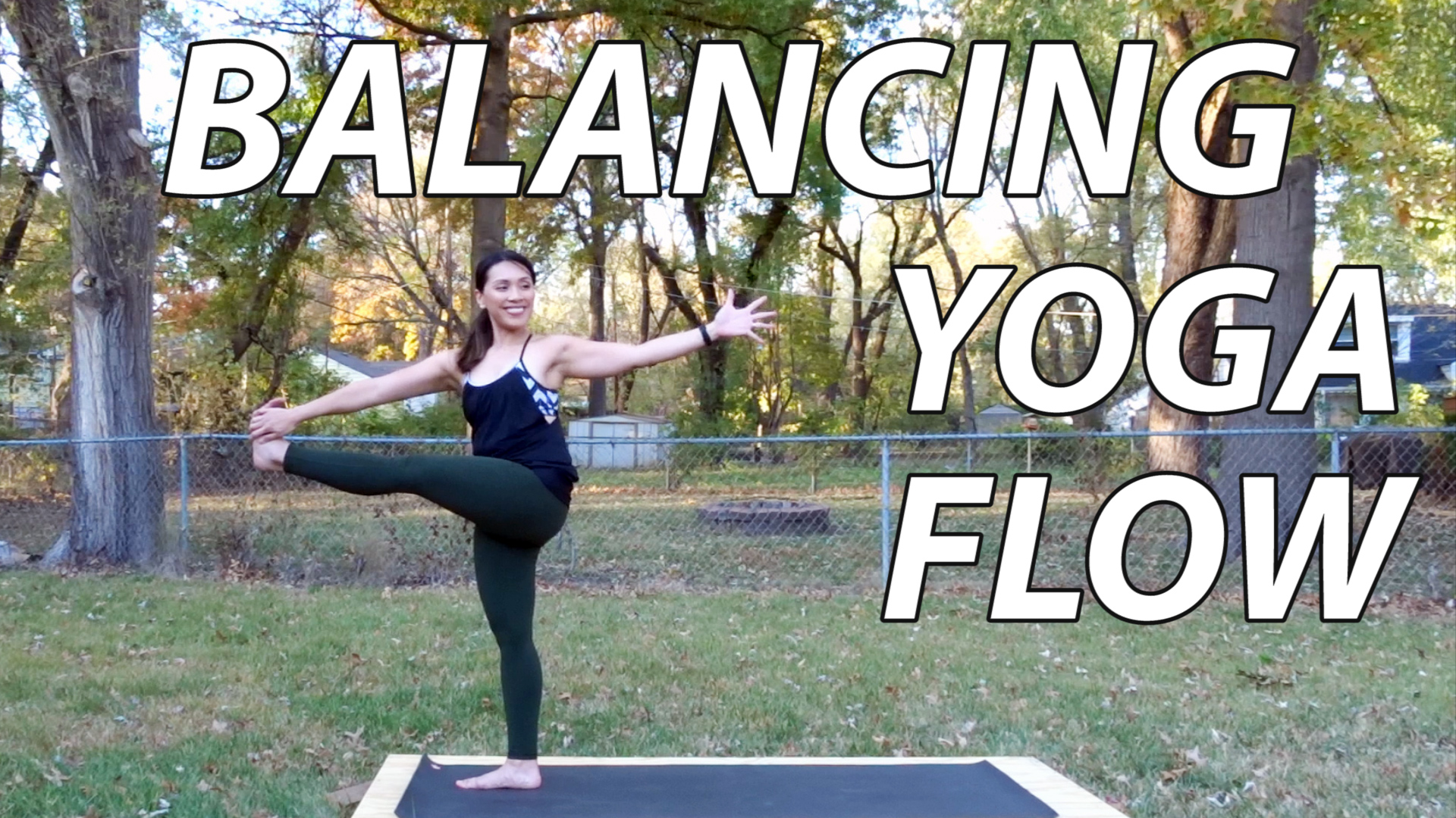 15 Min Balancing Flow for Strong Legs and Feet Thumbnail