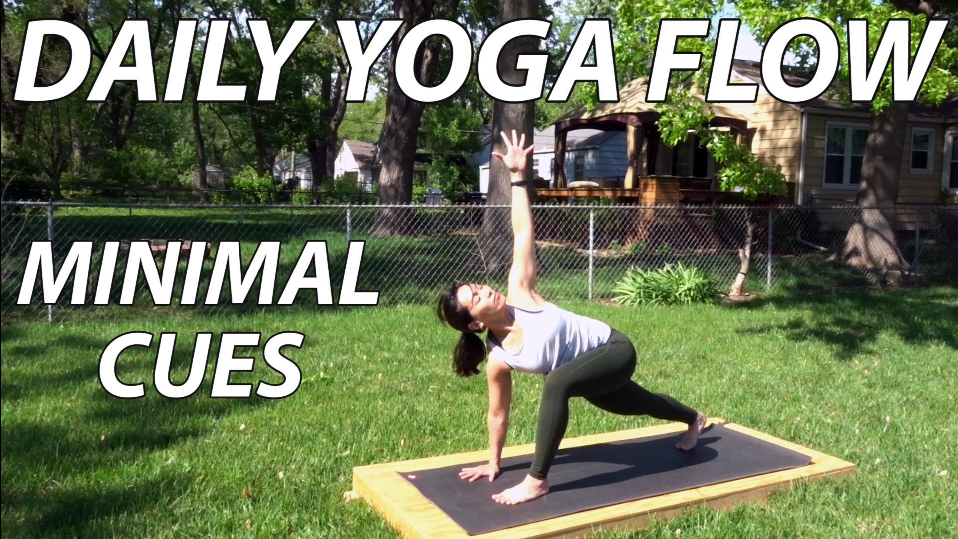 12 Minute Standing Vinyasa Flow Yoga Minimal Cues Thumbnail